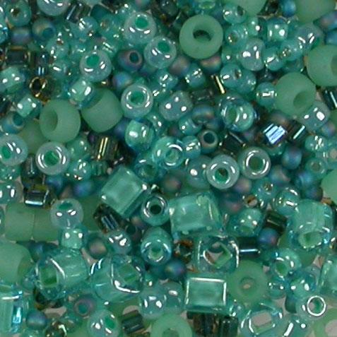 seafoam green mix 3203